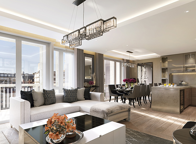 Top 5 upcoming london luxury real estate developments for Luxury real estate london