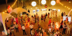 "WOAM ""Sands Of Time"" charity exhibition and fundraiser at Ola Beach Club"