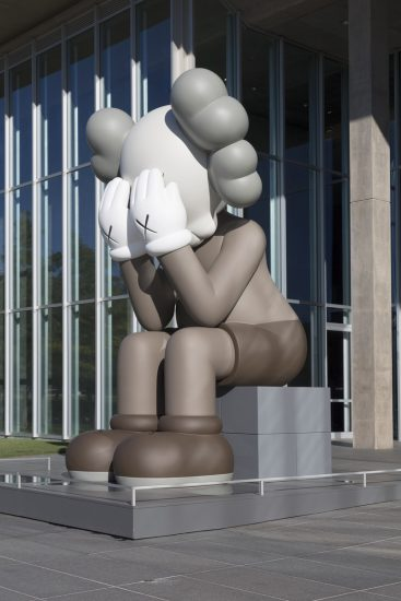 KAWS is known for his figurative characters and re-interpretations of popular icons notably Mickey Mouse