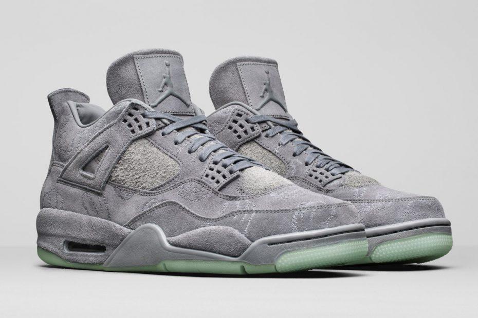 KAWS x Air Jordan 4. Image: Nike