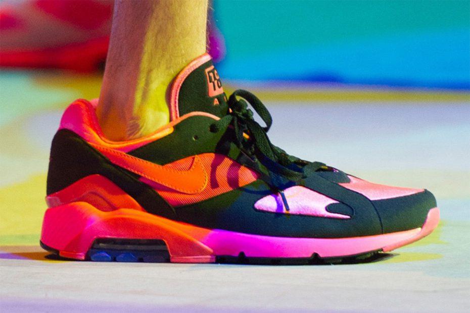 COMME des Garcons x Nike Air Max 180
