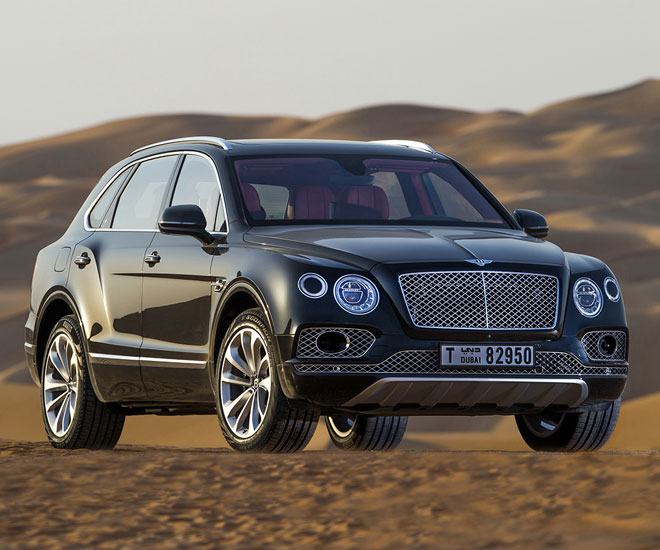Bentley Bentayga Falconry by Mulliner © Courtesy of Bentley