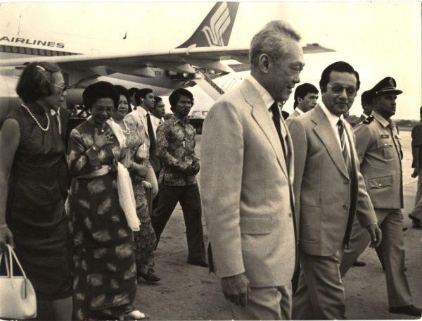 Mr. Lee with then Prime Minister of Malaysia Mahathir Mohamad