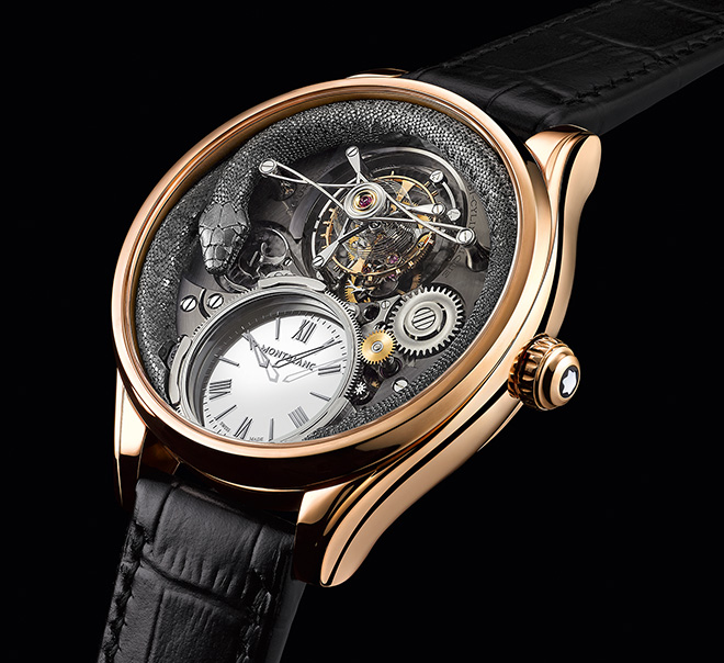 Montblanc Villeret Tourbillon Bi-Cylindrique 110 Years Anniversary Limited Edition