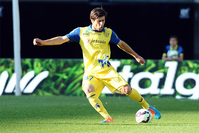 Sponsored by Jetcoin in 2015, A.C. Chievo Verona, the Italian Serie A club, was the first pro football team to be financially supported by a cryptocurrency