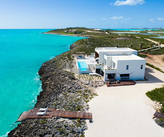Tip of the Tail is Provo's newest, most spectacular luxury waterfront villa and the Caribbean's benchmark in eco-luxury.
