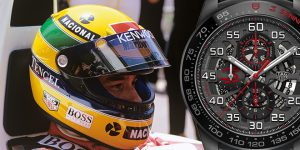 New Luxury Watch: TAG Heuer Ayrton Senna Chronograph Limited Editions