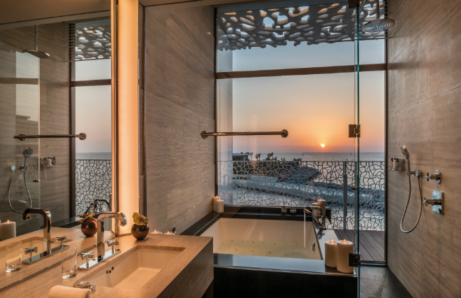 The bulgari resort and hotel dubai luxuo for Bulgari hotel dubai