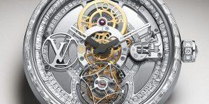 Bejewelled Timepiece: Louis Vuitton Tambour Moon Tourbillon