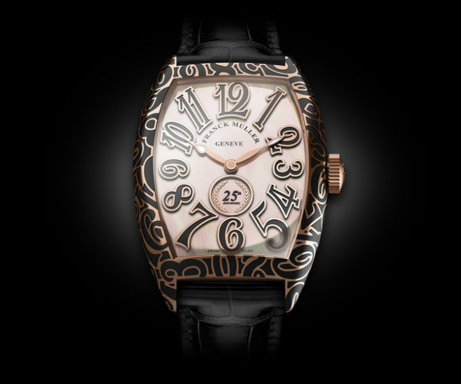 Frank Muller turns 25 with Special Edition Cintree Curvex Watches