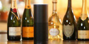 Moet Hennessy's Alexa Responds on Voice Command