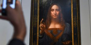 Salvator Mundi by Leonardo da Vinci sold for $450 m to Saudi Prince
