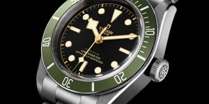 Tudor Black Bay in Green: A Harrods Special Edition