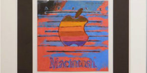 Andy Warhol: Apple's Classic Macintosh Logo to Auction