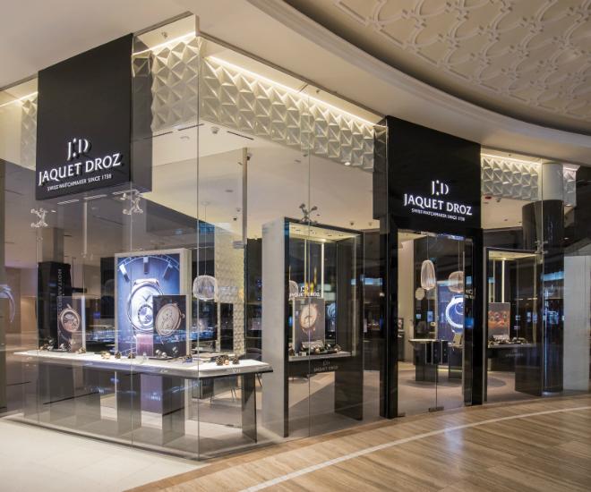 Jaquet droz archives luxuo for Dubai boutique