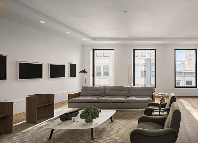 Luxury new york soho loft 150 wooster loft no 2 for Loft soho new york