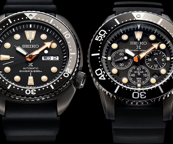 New Watch: 2018 Seiko Prospex Black Series Divers Limited Editions