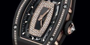 New Watch: SIHH 2018 Richard Mille RM 07-01 in Gem-Set Black Ceramic