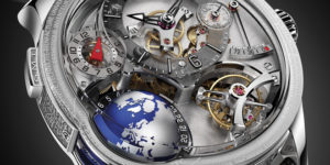 SIHH 2018 Greubel Forsey GMT Earth