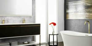 Art Déco Age: New Bathroom Collection