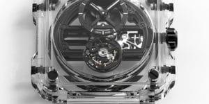Baselworld 2018 Bell & Ross BR-X1 Skeleton Tourbillon Sapphire unique pieces