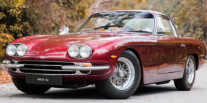 Bonhams Auction: You can Own Paul McCartney's 1967 Lamborghini 400GT 2+2 Coupe