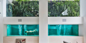 Brazilian architect Fernanda Marques Sao Paulo Duplex is all about the Swimming Pool