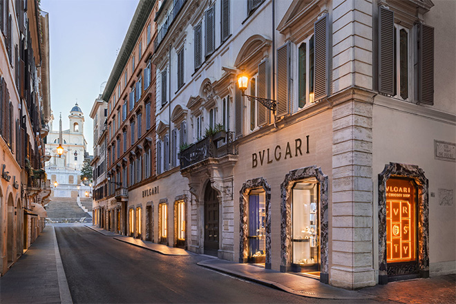 Bvlgari's New Curiosity Shop on Via Condotti