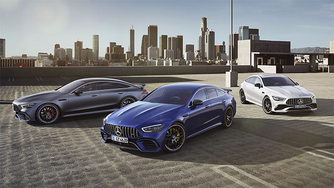The new four-door Mercedes-AMG GT Coupe debuted at the Geneva Motor Show 2018.