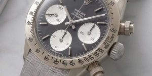 Unique Vintage White Gold Rolex Daytona Makes Phillips Auction Debut