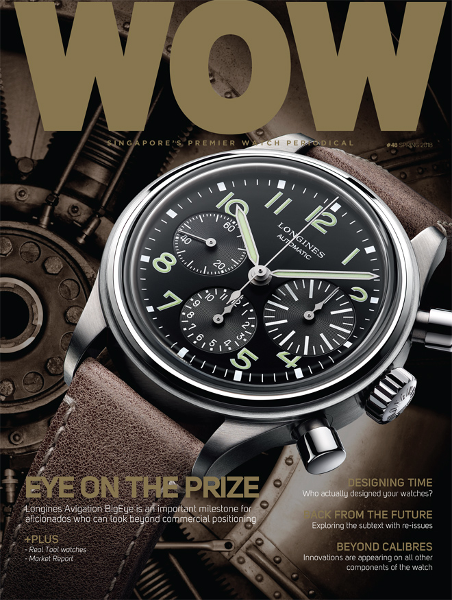 WOW Spring 2018 looks at the Year Ahead for Watchmaking through the lenses of SIHH and the overall business climate