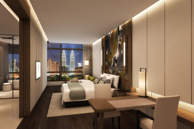 Banyan Tree Kuala Lumpur will feature 55 exquisite rooms and suites, ranging from 51 square metres to 200 square metres in size, with contemporary flair and breath-taking views