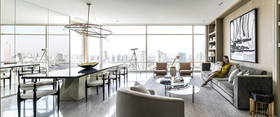Every unit at the Four Seasons Private Residences Bangkok at Chao Phraya River is a corner unit. Thus, to say it elevates luxury waterfront living to new heights is not hyperbole