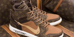 Louis Vuitton x Off-White x Air Jordan 1 Customs debuts to celebrate Vigil Abloh's appointment