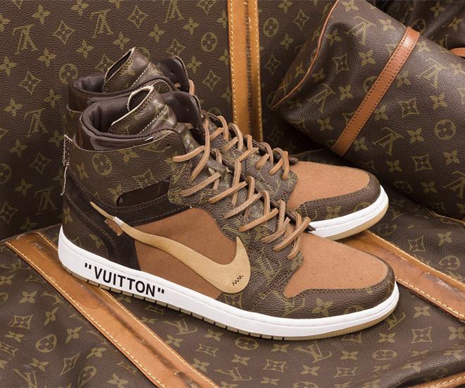Louis Vuitton x Off-White x Air Jordan 1 Customs debuts to celebrate Vigil Abloh's appointment ...