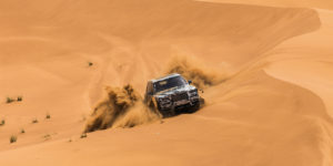 You wouldn't wear your Jimmy Choos on a hike but you can take your Rolls Royce through a desert