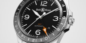 Vintage Look New Watch: Bell & Ross V2-93 GMT