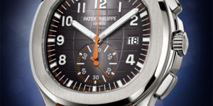 Affordable High End Chronograph: Patek Philippe Aquanaut Chronograph 5968A