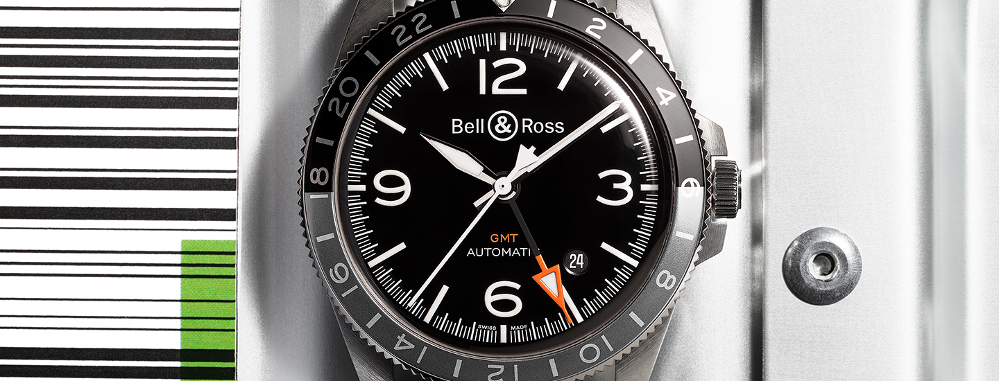 stylist and luxury sir la table. Vintage Look New Watch  Bell Ross V2 93 GMT LUXUO The Luxury Lifestyle Portal
