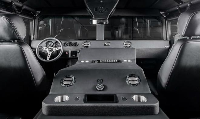 Mil Spec Auto Launch Edition Hummer H1 Interior