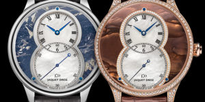 New Jaquet Droz Grande Seconde Off-Centered collection