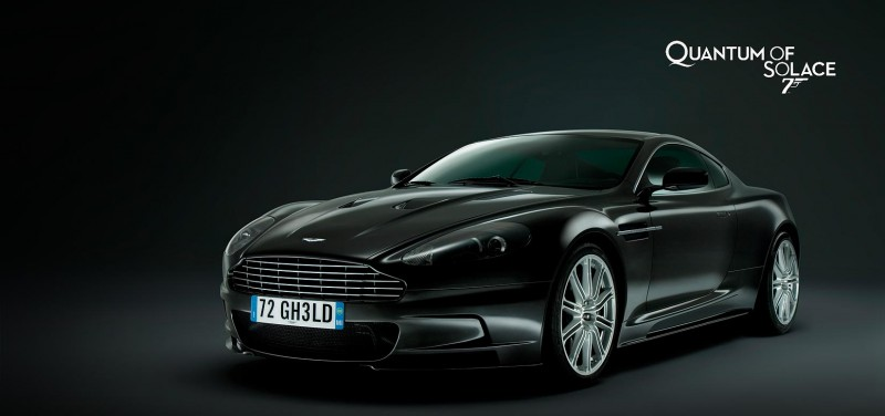 James Bond 'Quantum of Solace' Aston Martin DBS
