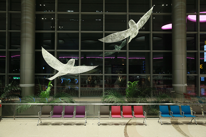 The Birds - Image courtesy Changi Airport Group