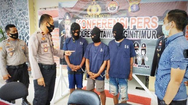 Napi bebas asimilasi ditangkap lagi polisi karena kasus pencurian sepeda motor. (Antara).