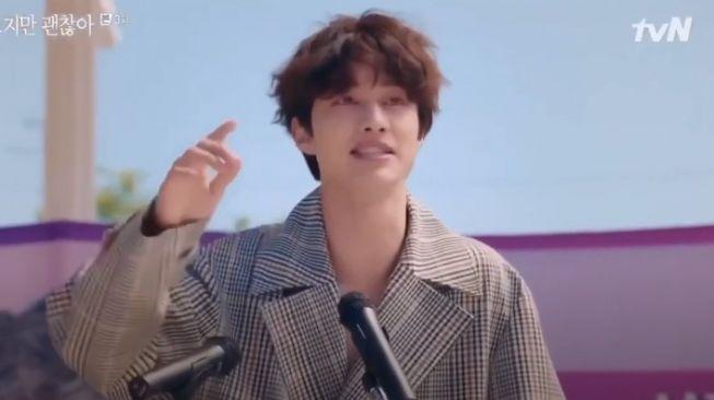 Kwak Dong Yeon perankan Kwon Ki Do [Youtube]