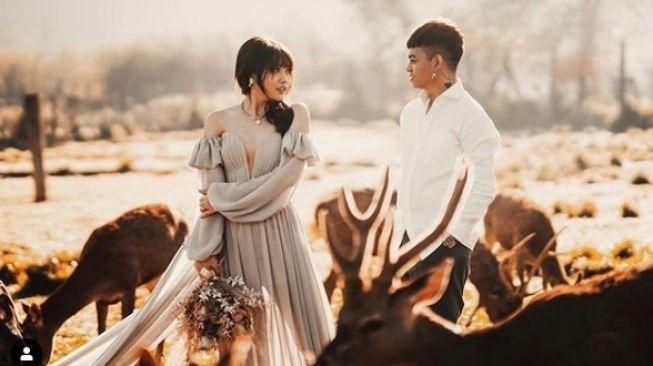 Reza Arap dan Wendy Walters foto prewedding [Instagram/@wendywalters]