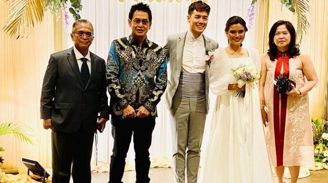 Audi Marissa resmi menikah dengan Anthony Xie. [Instagram]
