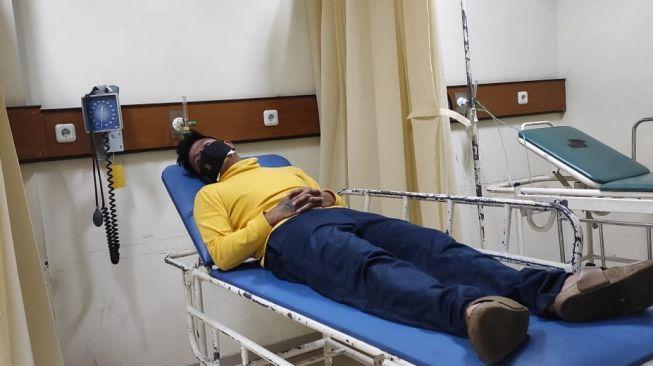 Andika eks Kangen Band dirawat di rumah sakit karena Covid-19. [istimewa]