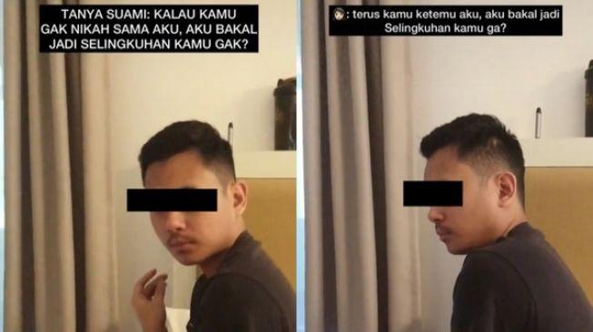 Viral istri tanya ke suami untuk jadi selingkuhan jika tak jadi menikah. Jawaban suami bikin bengong netizen karena tak terduga.