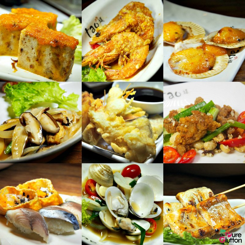Tao authentic asian cuisine japanese buffet sunway for Authentic asian cuisine